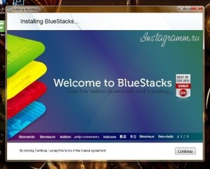 инстаграм bluestacks