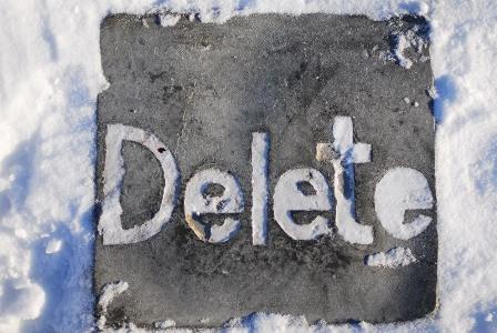 удалить фото Instagram